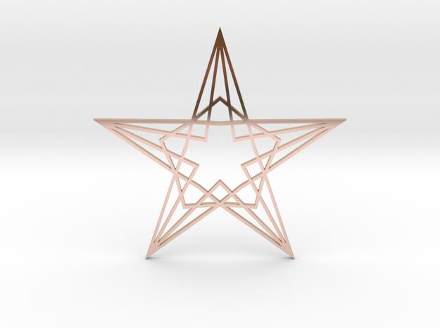 Arabesque: Star 3d printed