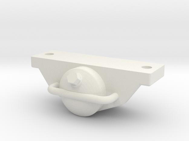 Achslager-DIN, M: 1:13,3 in White Natural Versatile Plastic