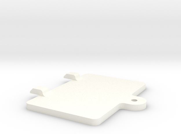 S99-S01 Lid for Scalextric Digital chip bay in White Processed Versatile Plastic