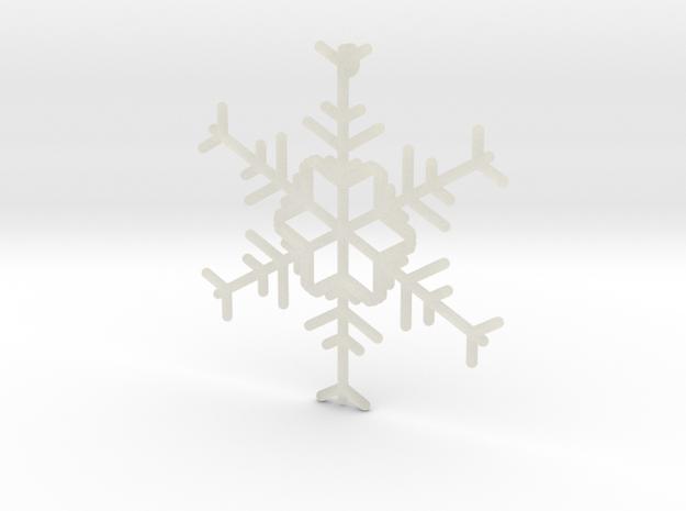 Snowflakes Series I: No. 12 3d printed