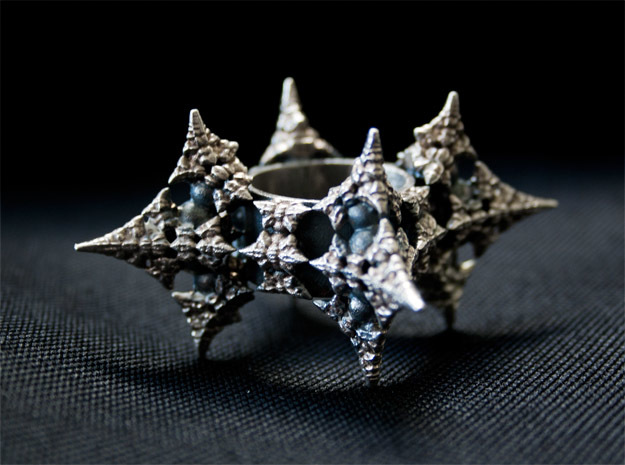 Dragon Fractal Ring 21mm