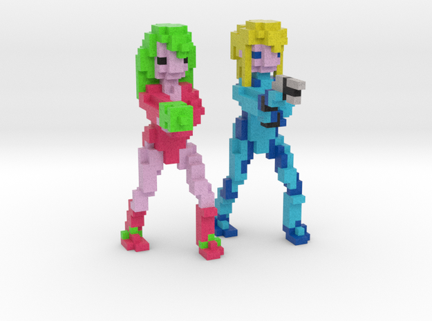Samus Aran - Justin Bailey & Zero Suit (Set)