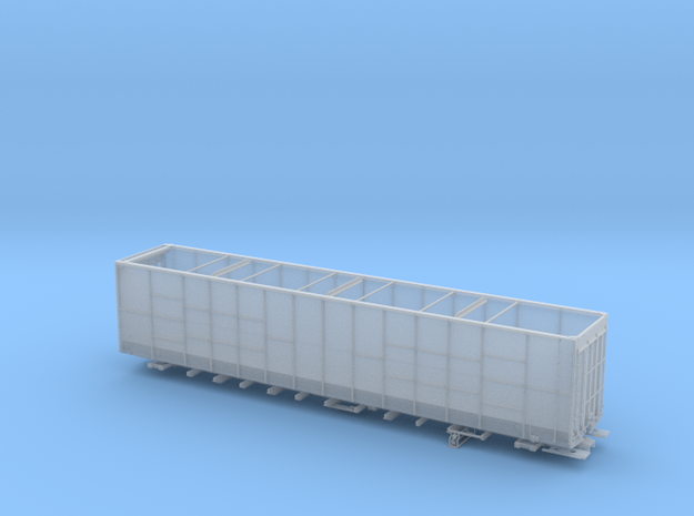 BN 585200-585349  lot17308 Woodchip Gondola HO in Smooth Fine Detail Plastic
