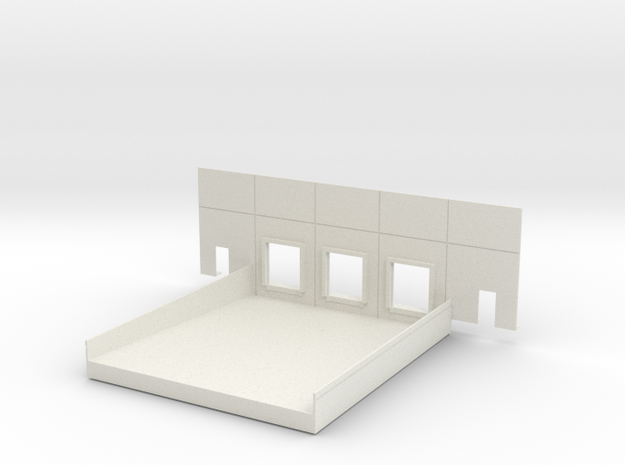 Complete Dock #2 Load In in White Natural Versatile Plastic