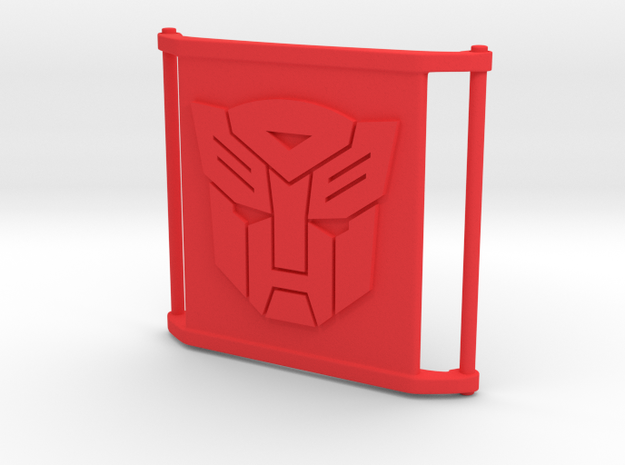 CharmBig - Autobot in Red Processed Versatile Plastic