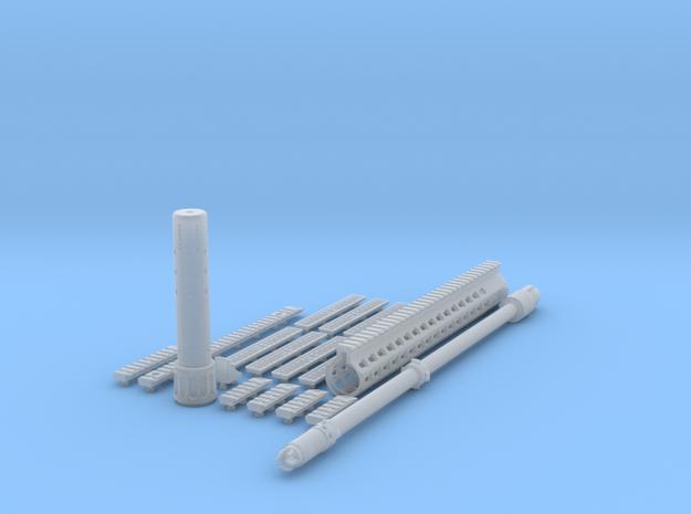1:6 SR25 URX4 Sniper Variant kit in Smooth Fine Detail Plastic