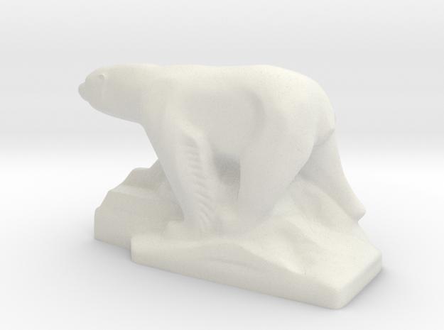 PolarBear in White Natural Versatile Plastic