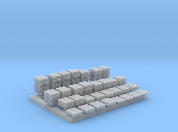 1:350 Scale Pallets (Lots of them!)