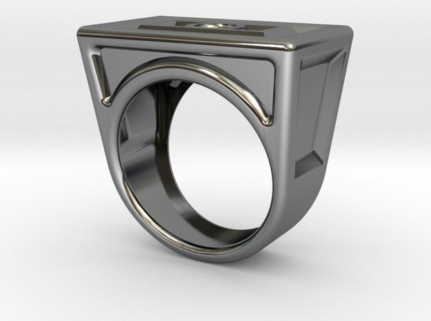 Prt0005 in Fine Detail Polished Silver