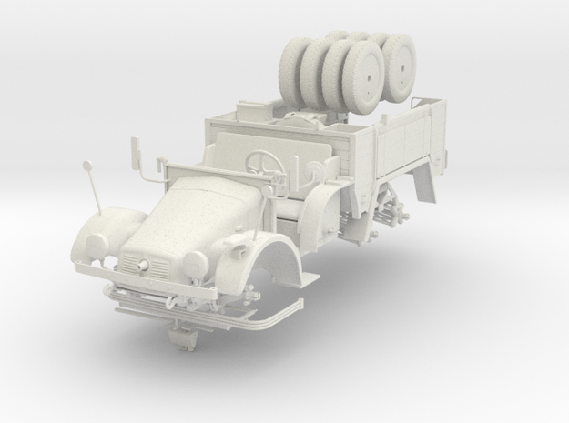 German WW2 Krupp Protze in 1:18 Scale 3d printed