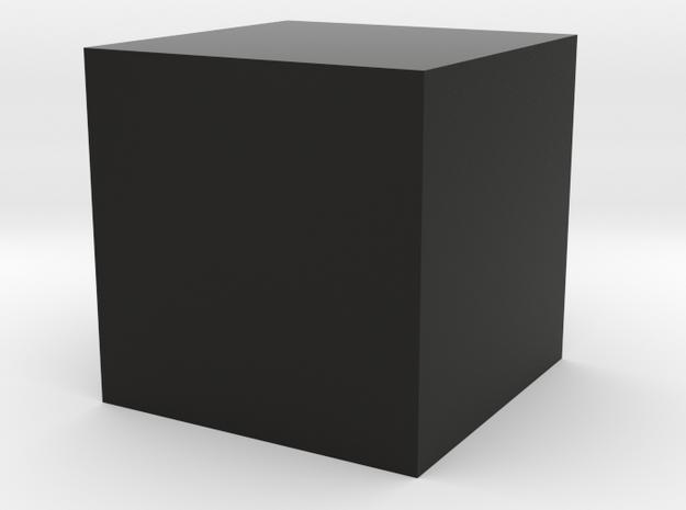 Test API Model in Black Natural Versatile Plastic