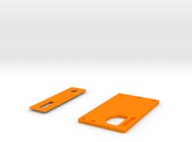 Covers for Boxmod bottomfeeder ONE in Orange Processed Versatile Plastic