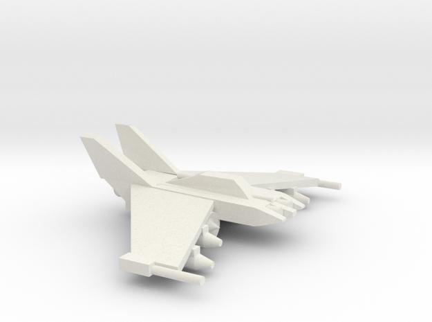 [5] Light Strike Fighter in White Strong & Flexible