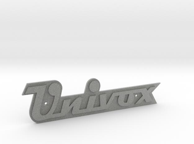UNIVOX Cabinet/Case Badge