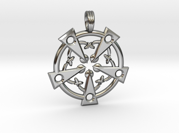 MAGICK SOULS in Fine Detail Polished Silver