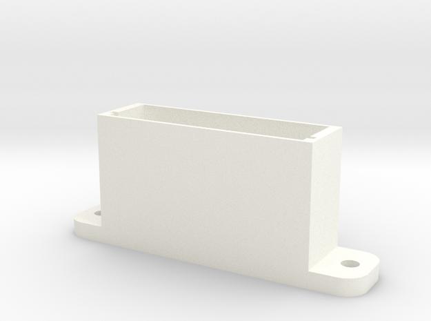 Test Box 2 in White Processed Versatile Plastic
