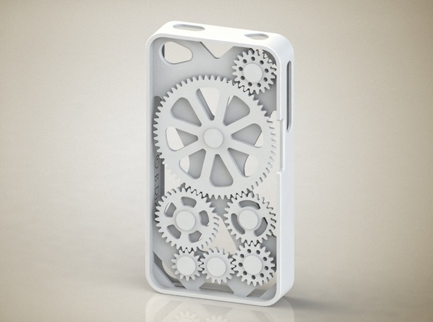 iPhone 4/4S Gear Case 3d printed iPhone 4/4S Gear Case