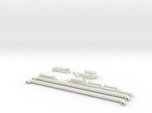 Powerwagon Kit in White Natural Versatile Plastic