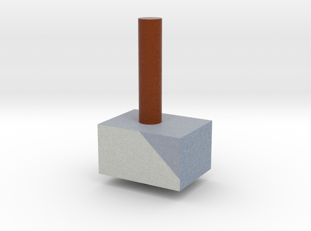 Hammer in Full Color Sandstone