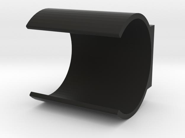 LRP Nosram Capacitor Holder in Black Natural Versatile Plastic