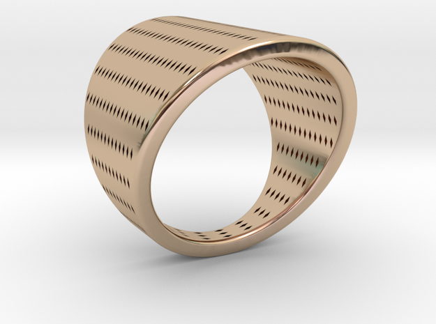 EMI Ring Nº10 in 14k Rose Gold Plated
