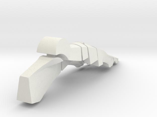 Planar Foot - 9 Inch in White Natural Versatile Plastic