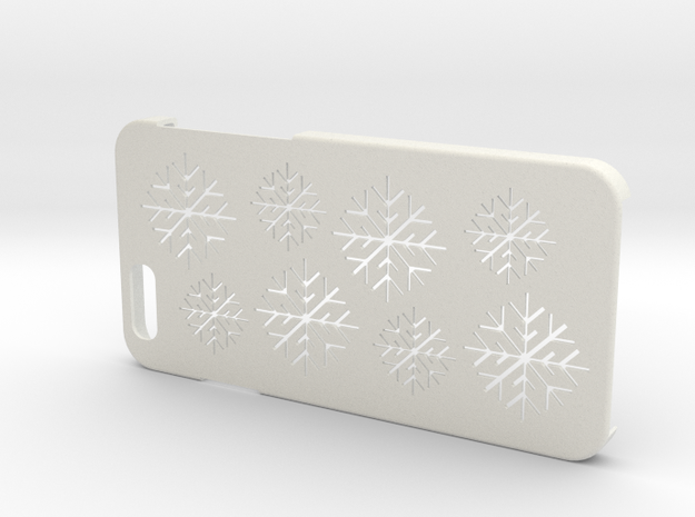 Iphone 6  Christmas case in White Natural Versatile Plastic