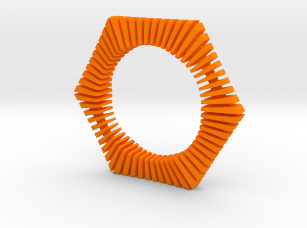 Floors Bracelet 02 3d printed