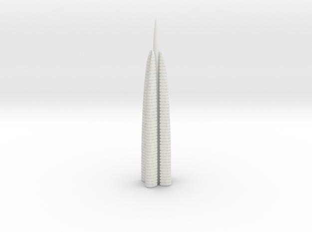 Anki & Guild Cityscape - The Spire in White Natural Versatile Plastic