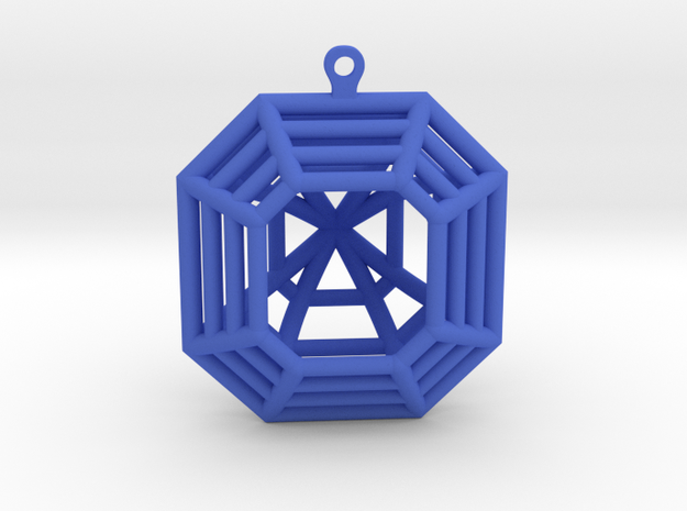 3D Printed Diamond Asscher Cut Earrings (Large)