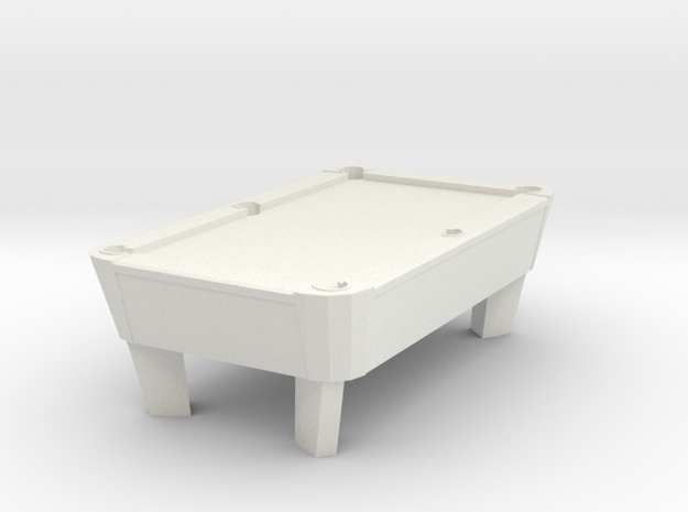 Pool Table - Qty (1) HO 87:1 Scale