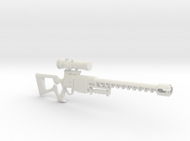 Fallout 3 Sniper in White Natural Versatile Plastic