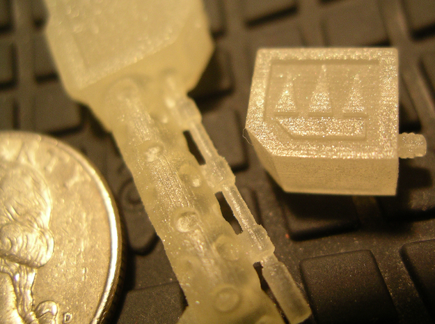 DreadShoota 3d printed Frosted Detail