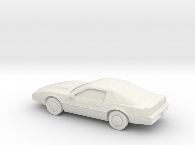 1/87 1982 Pontiac Custom in White Natural Versatile Plastic