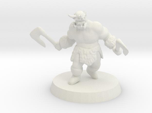 Ogre Berserker in White Strong & Flexible