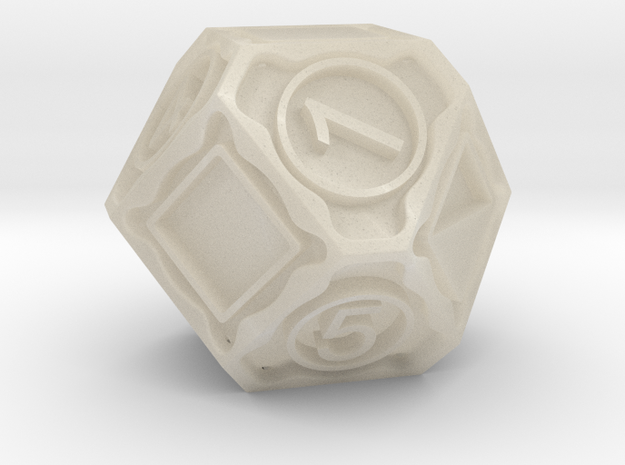 D14 in White Acrylic