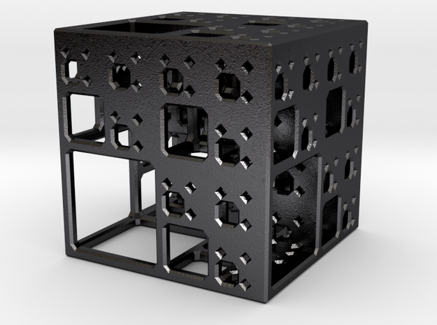 NewMenger - small fractal sculpture 3d printed