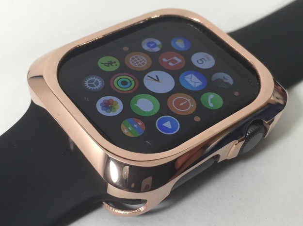 Apple Watch Metal Bumper 42mm in 14k Rose Gold Plated Brass