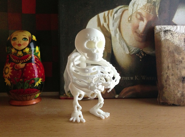 Daisy de los Muertos -Second Layer 3d printed