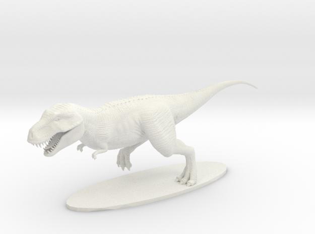 T-Rex in White Natural Versatile Plastic