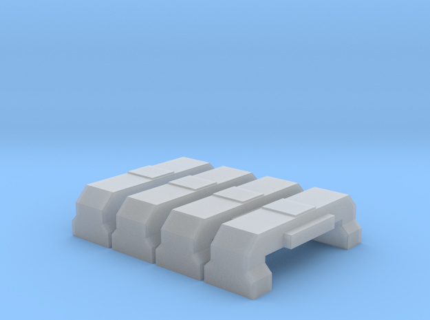 Horst Air Filter (Angled)(HO - 1:87) 4X