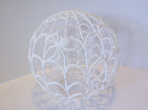 Spiderweb Shadow Tea Light Shade 3d printed