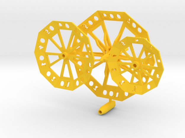 ''d1000 Spinner'' No6 3d printed