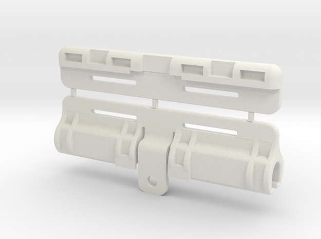 Replica Tubes in White Strong & Flexible