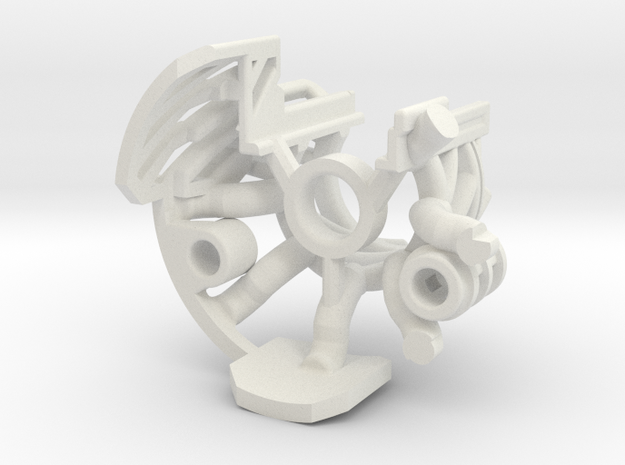 V2-01-3-CC - Master Chassis - Part3 CC insert in White Natural Versatile Plastic