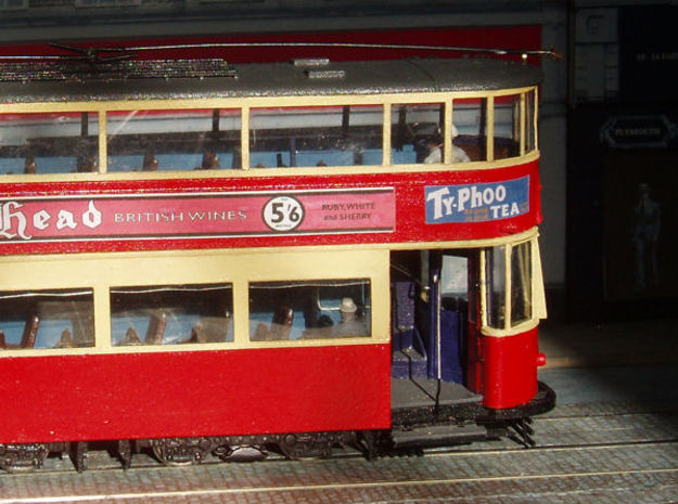 1:43 L.T. Tram No 1-Part 1 in White Strong & Flexible