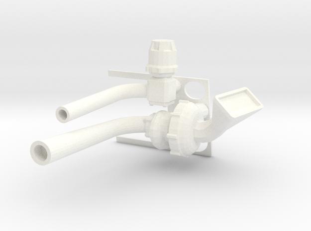 Lancia Beta Turbo - 1 12 in White Processed Versatile Plastic