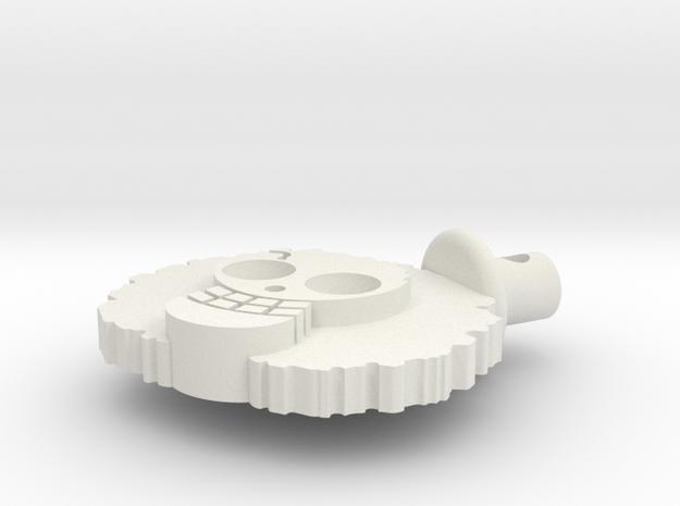 brook in White Natural Versatile Plastic