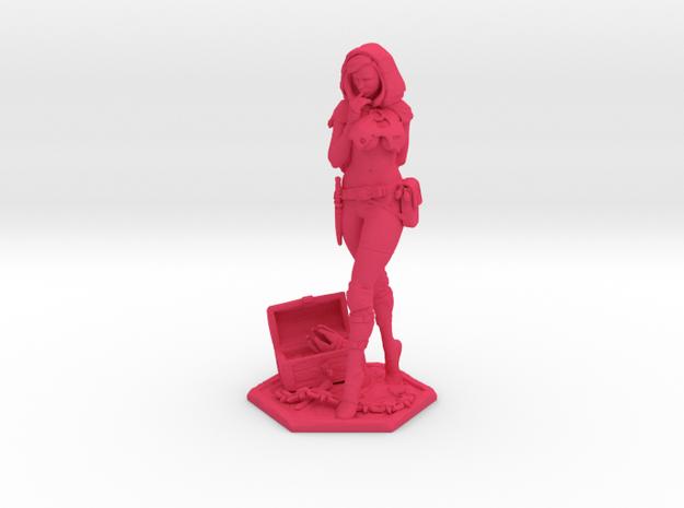 Female Thief 2inch 3d printed