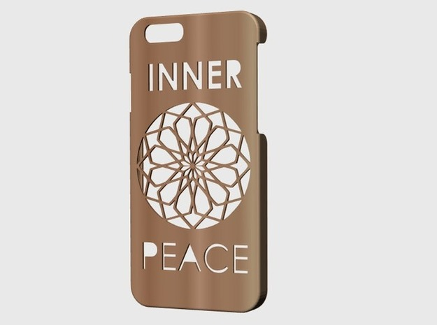 Iphone 6 case. in Stainless Steel
